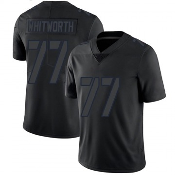 Men's Andrew Whitworth Los Angeles Rams Nike Limited Jersey - Black Impact