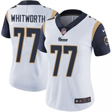 Women's Andrew Whitworth Los Angeles Rams Nike Limited Jersey - White