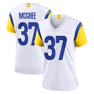 Women's Tyrique McGhee Los Angeles Rams Nike Game Jersey - White